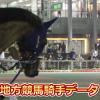川崎競馬場リーディング騎手と川崎競馬場データ