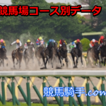 新潟競馬場芝2000mリーディング騎手データ